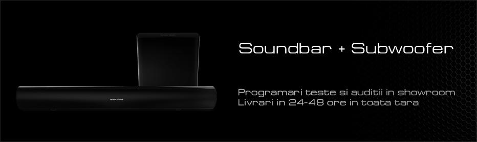 Soundbar + Subwoofer