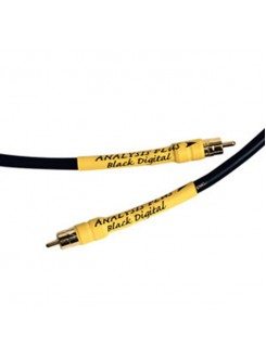 Cablu Coaxial Digital (SPDIF) Analysis Plus Black Digital Cable 1.5m