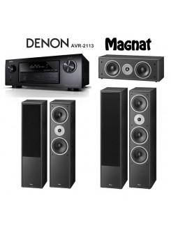 Sistem home cinema 5.1 Denon - Magnat AVR-2113