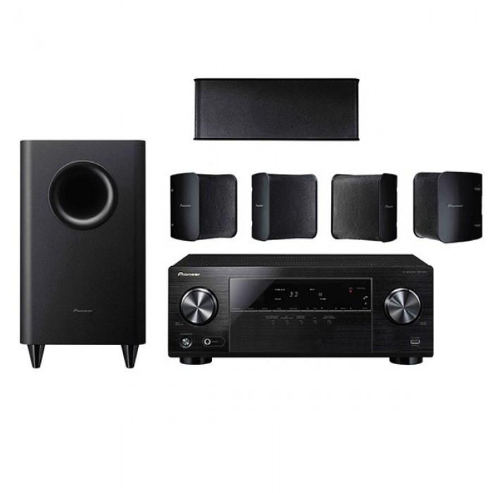 sistem home cinema 5 1 pioneer htp 072. Black Bedroom Furniture Sets. Home Design Ideas