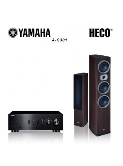 Pachet Yamaha A-S301 + Heco Victa Prime 702