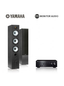 Pachet Yamaha A-S500 + Monitor Audio MR6